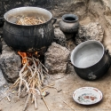 Traditional cooking, Burkina Faso (2009)