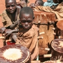 Beating the drum, Burundi (2006)