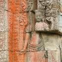 Khmer stone carving detail, Siem Reap, Cambodia (2007)