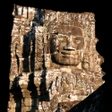 Stone face on the Bayon Temple, Siem Reap, Cambodia (2007)