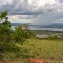 Rain over Akagera NP, Rwanda (2005)