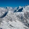 Himalaya mountain range, Nepal (2009)