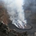 Mount Nyiragongo crater, DRC (2010)