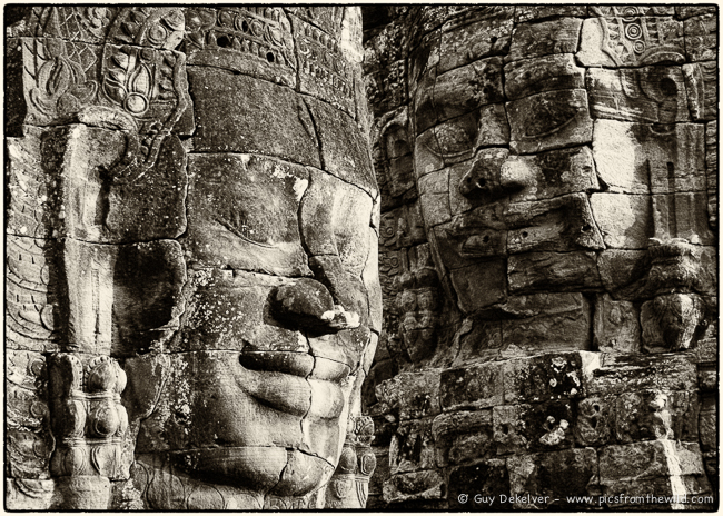 Bayon temple, Siem Reap, Cambodia (2007)