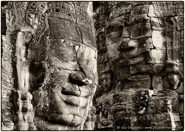 Bayon temple, Siem Reap, Cambodia (2007)